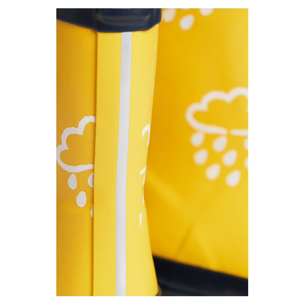 Yellow Colour Change Wellies