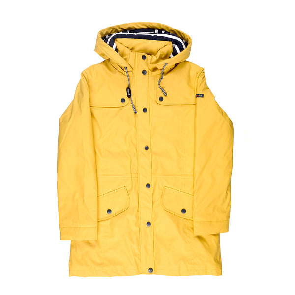 Women's Yellow Raincoat