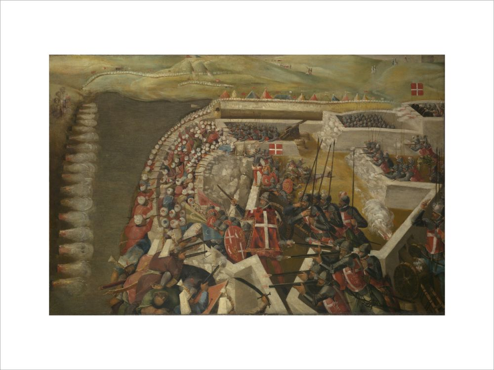 The Siege of Malta: Assault on the Post of the Castilian Knights, 21 August 1565