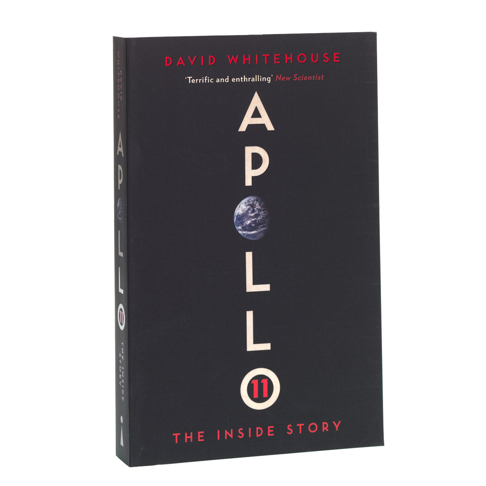 Apollo 11 The Inside Story by David Whitehouse book cover