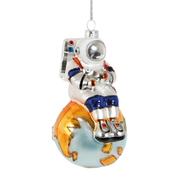 Astronaut 'Top Of The World' Decoration
