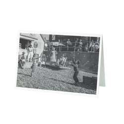 Herne Bay Bubbles David Hurn Greetings Card