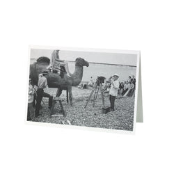 Herne Bay Camel David Hurn Greetings Card