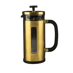Brushed Gold Cafetiere