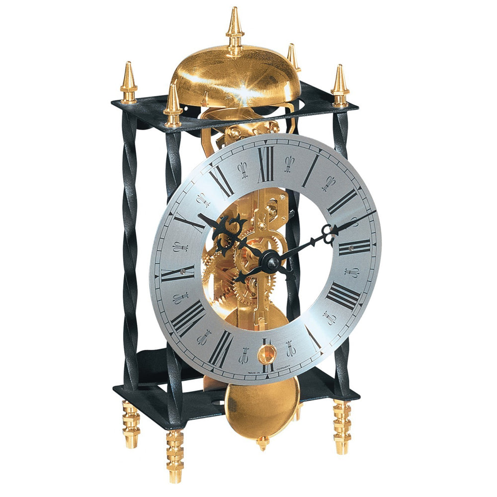 Skeleton Lantern Clock Hermle