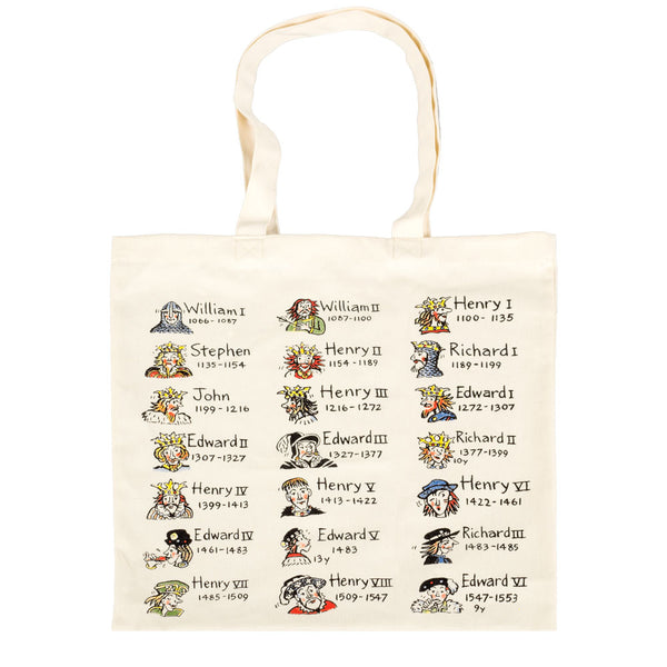 British Kings & Queens Cotton Tote Bag