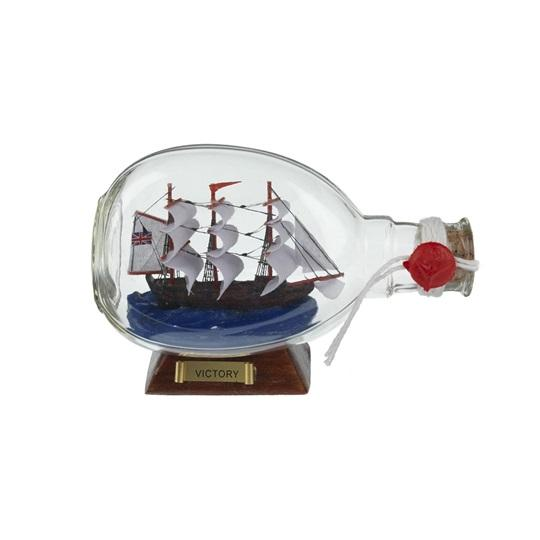 Large Victory Ship In Bottle