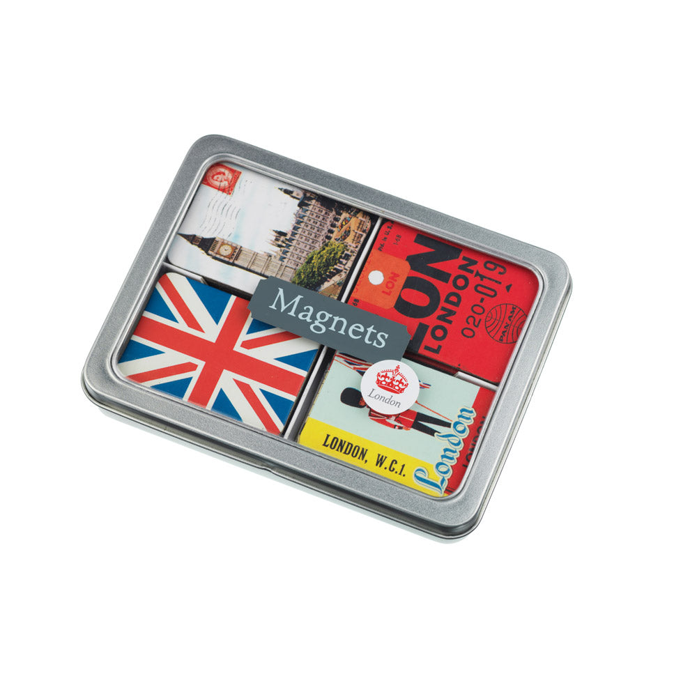 Vintage London Magnet Set