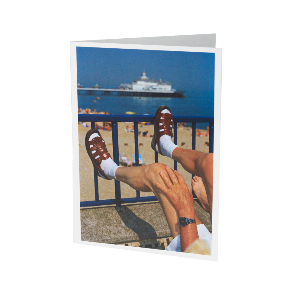Eastbourne Martin Parr Greetings Card