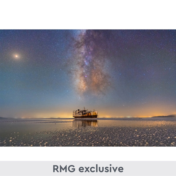 Insight Investment Astronomy Photographer of the Year 2019: Sharafkhaneh Port and Lake Urmia print
