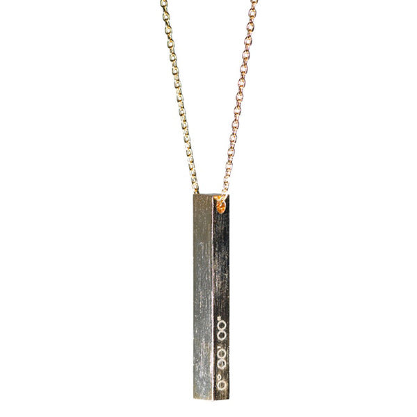 Prime Meridian Line Necklace