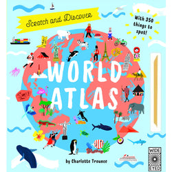 World Atlas Scratch and Discover