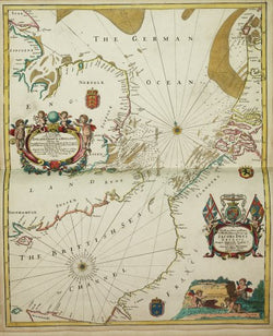 A New Mappe of the Sea Coasts of England, France and Holland