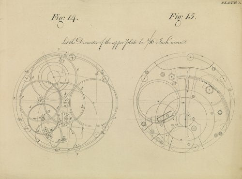 Harrison's 4th Marine Timekeeper Drawing