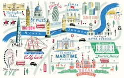 London and Greenwich Illustrated Map