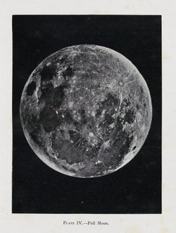 Plate IV, Full Moon