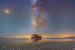 Sharafkhaneh Port and Lake Urmia