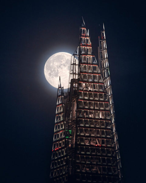 The Moon and the Shard