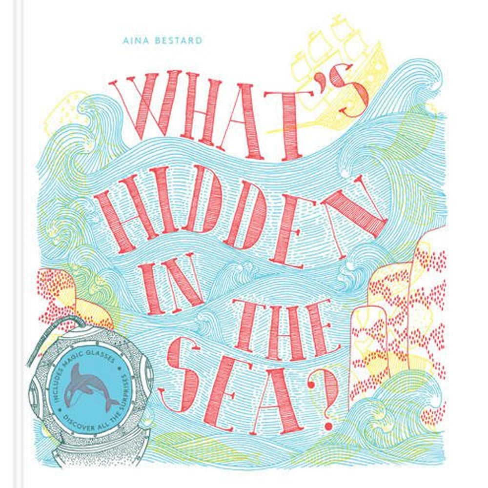 What's Hidden In the Sea? Children's Book