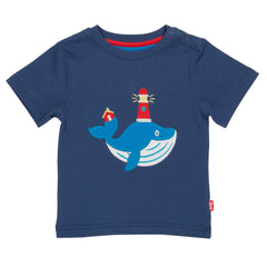 Organic Cotton Wonder Whale T-Shirt