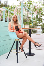 AMBER TURNER 'IT'S ALL IN THE DETAIL' BLACK SNAKE HEELS