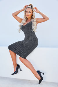 AMBER TURNER 'MONEY MOVE$' DOLLAR SIGN COURT BLACK HEELS
