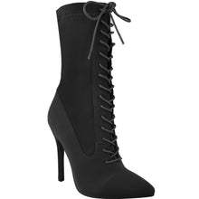 KIMMY BLACK LYCRA SOCK BOOT