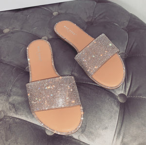 LEORA DIAMANTE NUDE SLIDERS