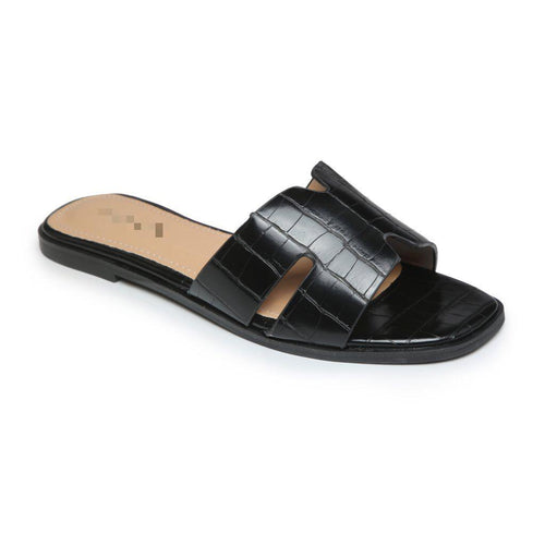 'OLD TOWN ROAD' BLACK CROC SLIDERS