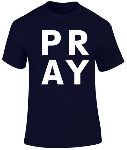 Pray Christian  Men's T shirt