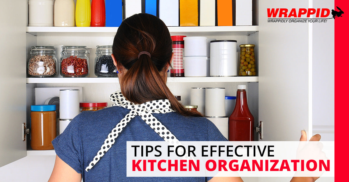 Tips for Effective Kitchen Organization