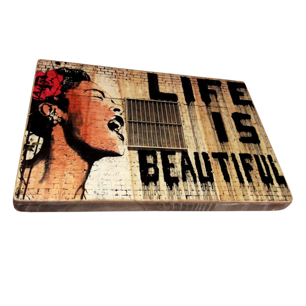Billie Holiday - Banksy - Life is beautiful