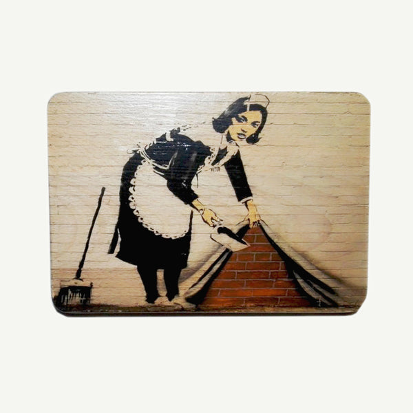 Banksy - Cleaning lady