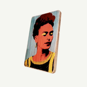 Frida Kahlo - Portrait - poster - print -movie - canvas - art