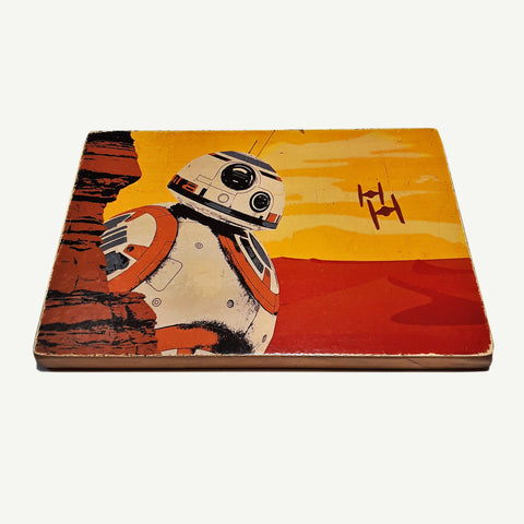 Star Wars - BB8 - artesanalwoodprint.com