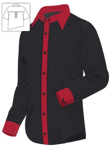 Red & Black Shirt