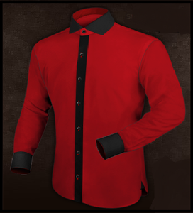 Black & Red Shirt