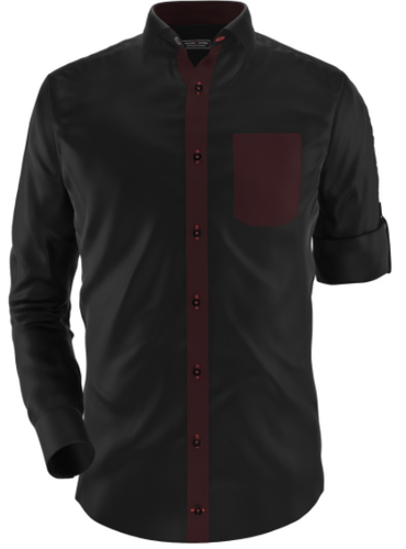 Black Wine Party Shirt