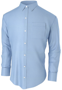 Classic Blue Business Shirt
