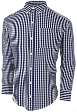 Smart Gingham Check Shirt