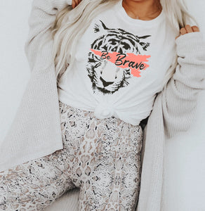 Be Brave Tiger Tee