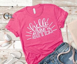 Hello Summer with Sun Tee