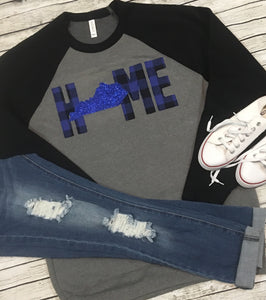 Home Raglan Sweatshirt