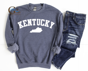 Arched Kentucky Sweatshirt