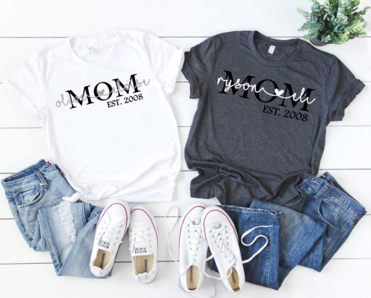 Mom and Kid Tee