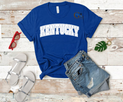 Arched Block Kentucky Tee