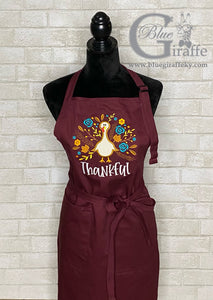 Thankful Turkey Apron