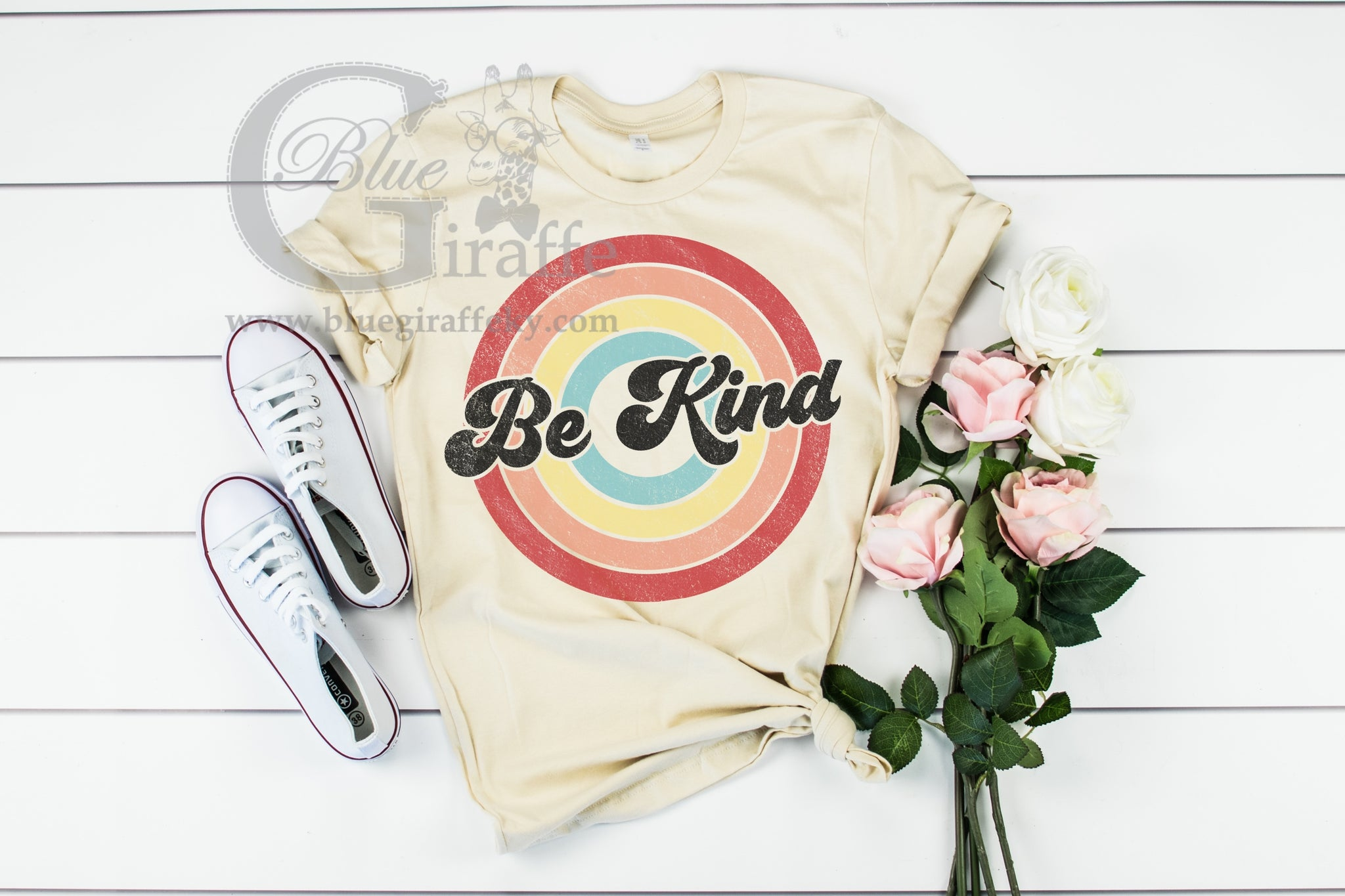 Be Kind Retro Circle Tee