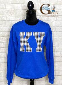 Gingham KY Sweatshirt