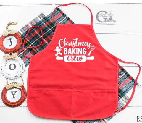 Christmas Baking Crew Apron
